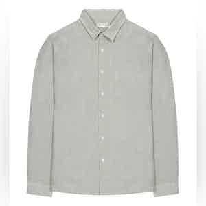Grey Linen Classic Shirt