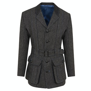 Grey Tweed Norfolk Jacket