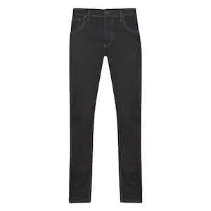 Dark Grey Cotton Denim Ruby Jeans