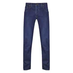 Blue Cotton Denim Ruby Jeans