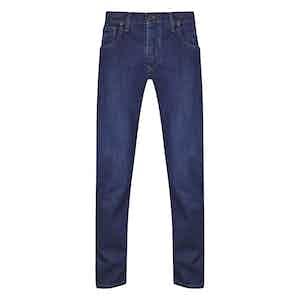 Blue Cotton Denim Ruby Jeans