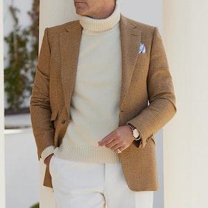 Caramel Light Tweed Jacket