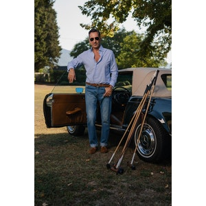 """Alexander Kraft Monte Carlo Perfect Jeans (""""Avvocato"""" Stone-Washed Edition)"""
