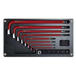 Black and Red Allen Key Set