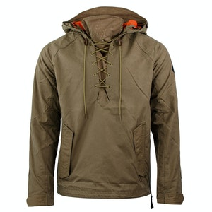Fatigue Brown Alpine Hooded Anorak