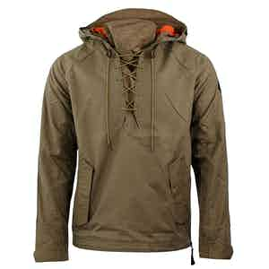 Fatigue Brown Alpine Hooded Anorak