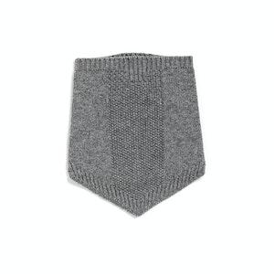 Grey Alpine Winter Wool Collar