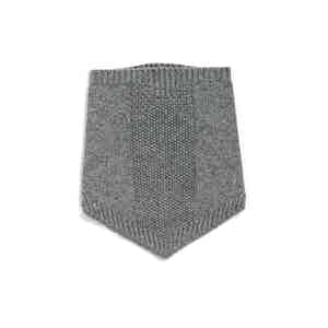 Grey Alpine Winter Wool Collar