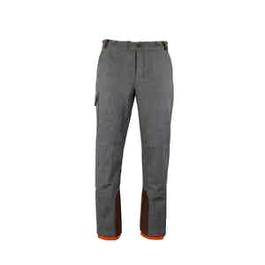 Charcoal Grey Alpine Winter Ski Trousers