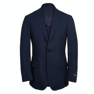 Navy Calm Twist Wool Suit
