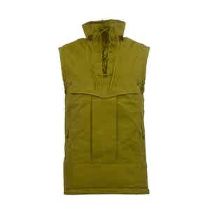 Olive Oil Yellow Touring Waxed Cotton Vest