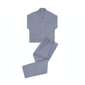 Grey Cashmere And Cotton Pyjamas