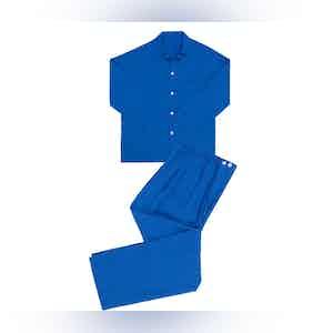 China Blue Linen Pyjamas