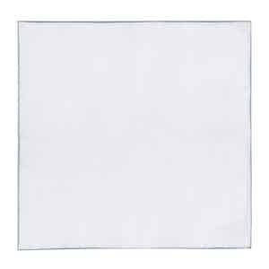 White And Grey Pocket Handkerchief