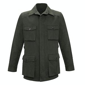 Dark Green Travel Jacket