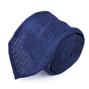 Blue Grenadine Tie