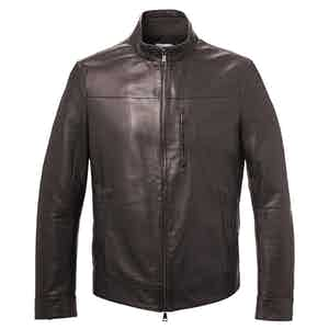 Mountain Brown Leather Jacket