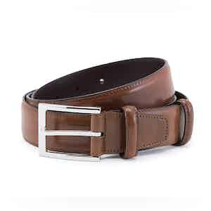 Bourbon Cordovan Leather Belt