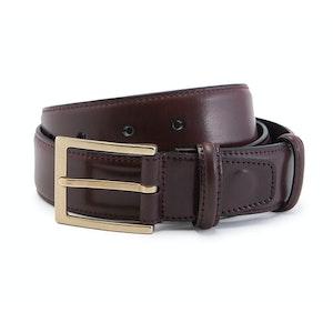 Burgundy Cordovan Leather Belt