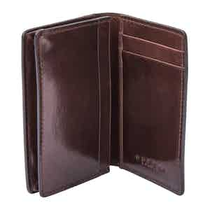 Tan Leather 3-Card Holder