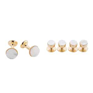 Gold and Mother of Pearl Dress Set
