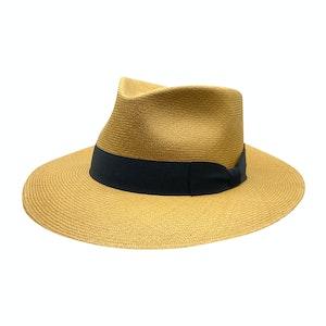 Cohiba Neutral Toquilla Palm Straw Hat