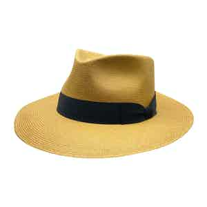 Cohiba Neutral Toquilla Palm Straw Hat