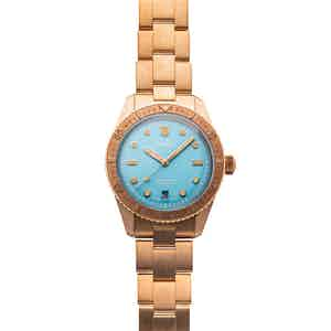 Oris Divers Sixty-Five 'Cotton Candy' - Sky Blue