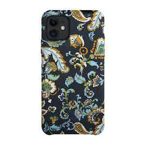 Blue and White Silk Alchemist Tivano iPhone 11 Case