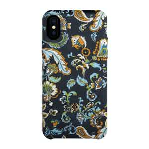 Blue, Green and White Silk Alchemist Tivano iPhone X/Xs Case