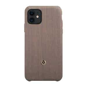 Beige and Blue Wool Gentleman iPhone 11 Case