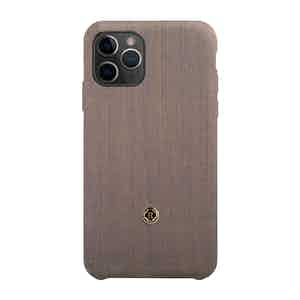 Beige and Blue Wool Gentleman iPhone 11 Pro Case
