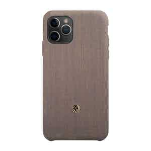 Beige and Blue Wool Gentleman iPhone 11 Pro Max Case