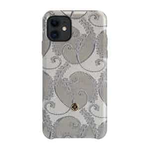 Silver of Florence Silk iPhone 11 Case