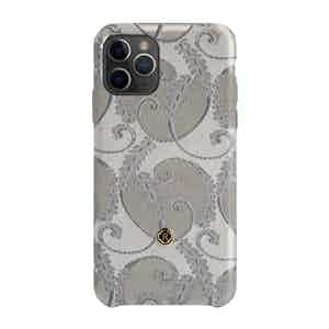 Silver of Florence Silk iPhone 11 Pro Max Case