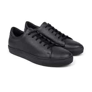 Black Pebble Low-Top Sneakers Laurent