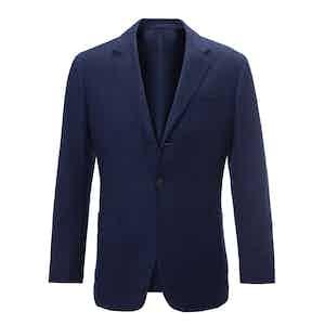 Dark Blue Super Light Cashmere Blazer