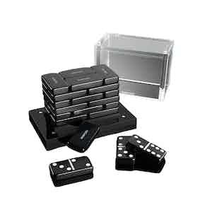 Black Domino Set