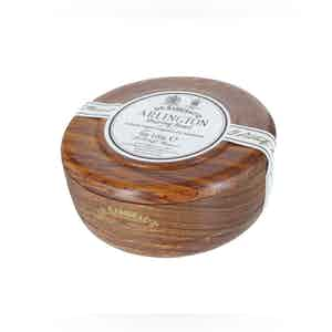 Arlington Traditional Shaving Soap with a Mahogany Bowl