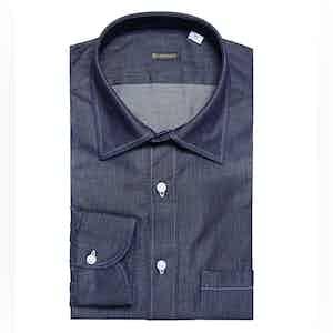 Dark Grey Denim Shirt