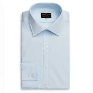 Ice Blue Superior Cotton Shirt