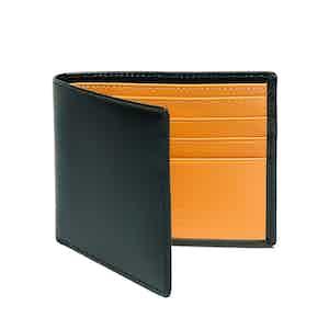 Dark Green and London Tan Billfold Wallet