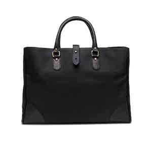 Black Canvas Pursuits Piccadilly Tote Bag