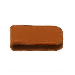 Tan Lifestyle Magnetic Cash Clip