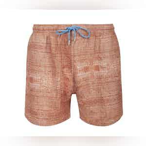 Orange Panarea Swimming Shorts