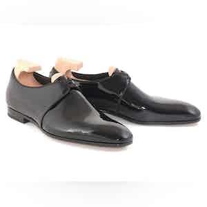 Black Forsythe Patent Leather Evening Shoes