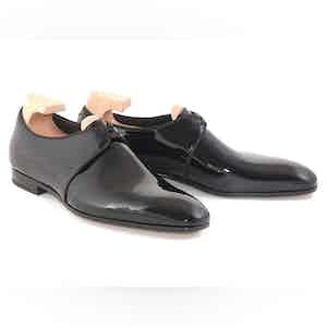 Black Forsythe Patent Leather Evening Shoes
