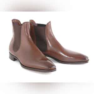 Oak Burnham Vintage Leather Boots