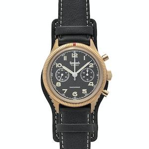 Bronze 417 Chronograph Hanhart x The Rake & Revolution