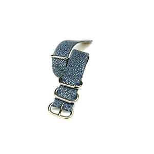 Light Blue NATO Stingray Watch Strap
